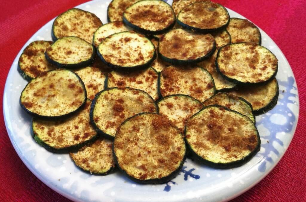 Healthy Recipes: Zucchini Chips with Cajun Dip