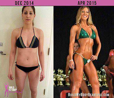 Emily Before and After Bikini Prep