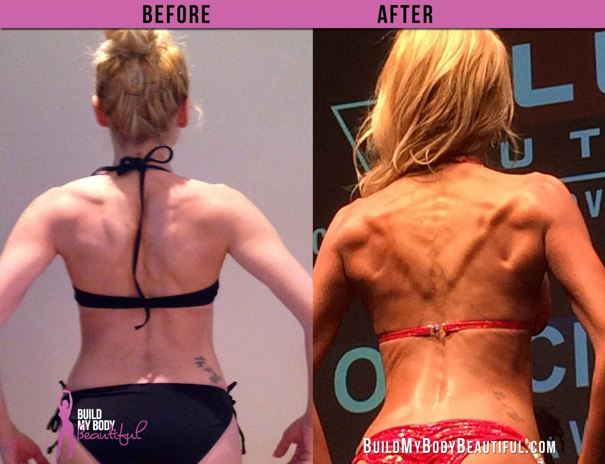 vanessa before and after back