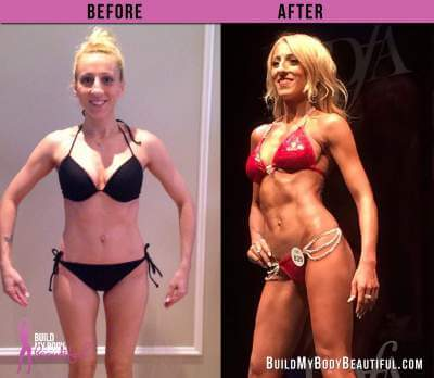 vanessa before and after front