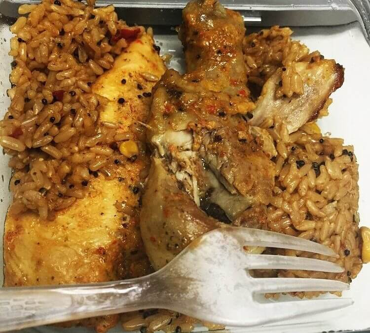 Delicious and Nutritious: Piri Piri Chicken Thighs and Brown Rice Recipe