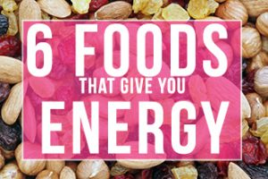 food that gives you energy