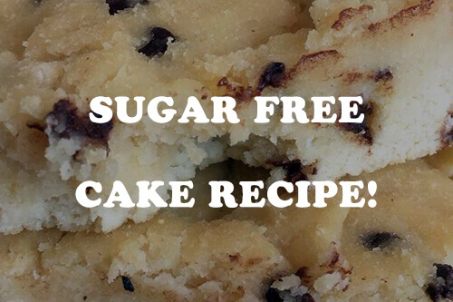 Sugar Free Cake: Chocolate Chip that Will Keep You Fit