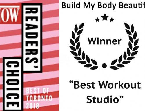 Build My Body Beautiful wins Best Workout Studio in Toronto